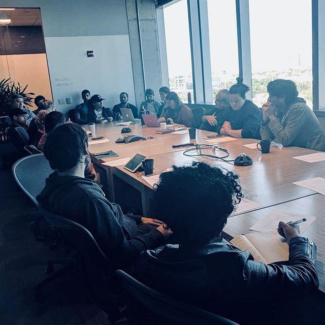 A meeting