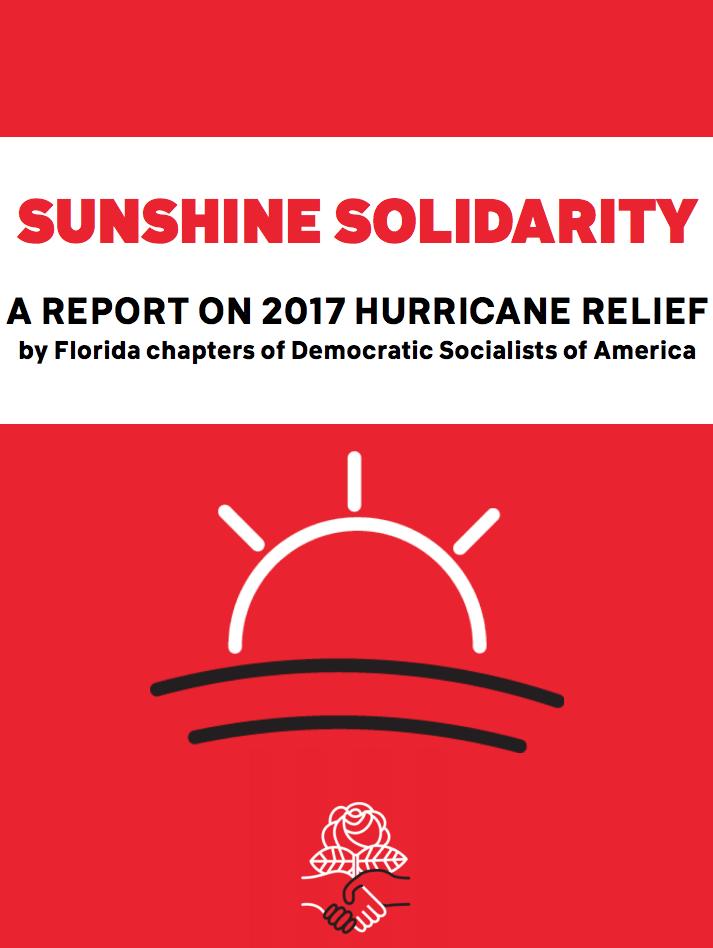 2017 Hurricane Relief Report