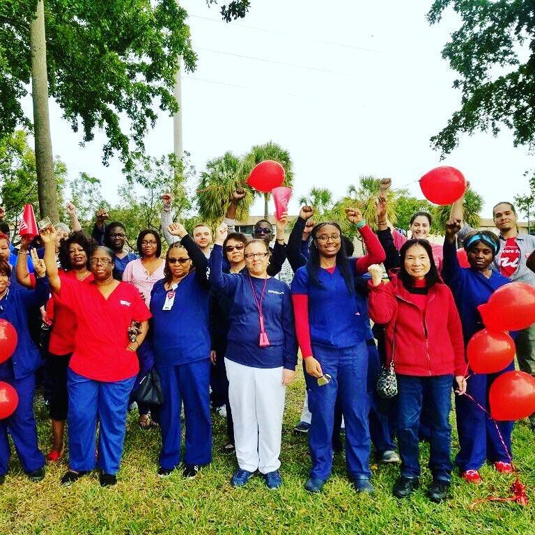 NNU Healthcare Rally