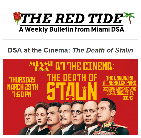 The Red Tide Screenshot for March 27th