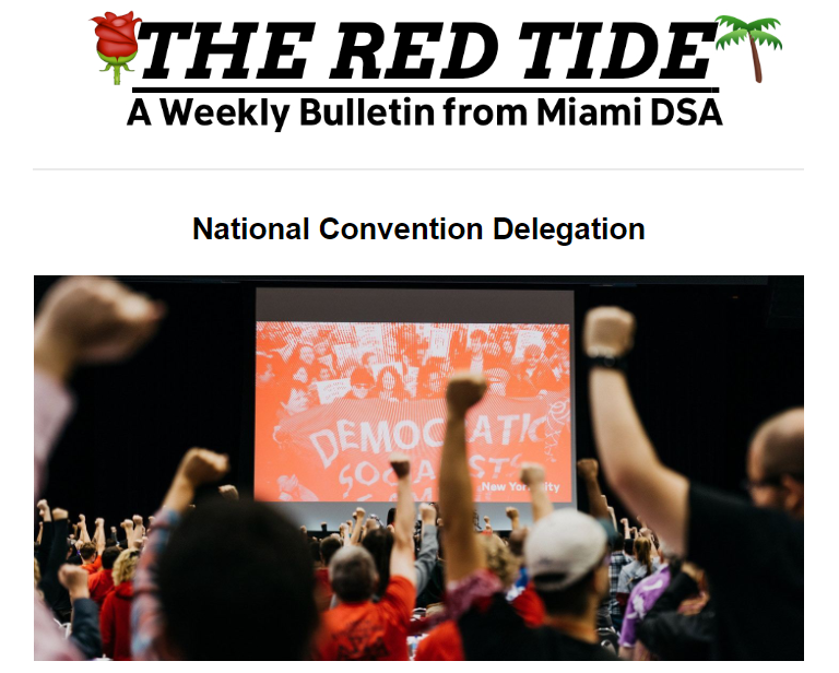 red tide convention screenshot