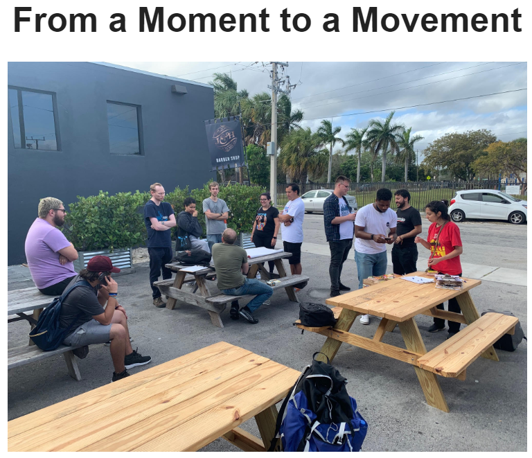 From a Moment to a Movement